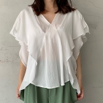 【muller of yoshiokubo】Stapel blouse