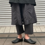 【wizzard】LAYERED PANTS